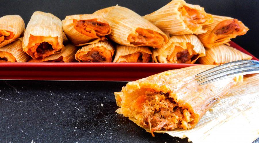 Chile de Arbol & Chile Colorado Pork Tamales