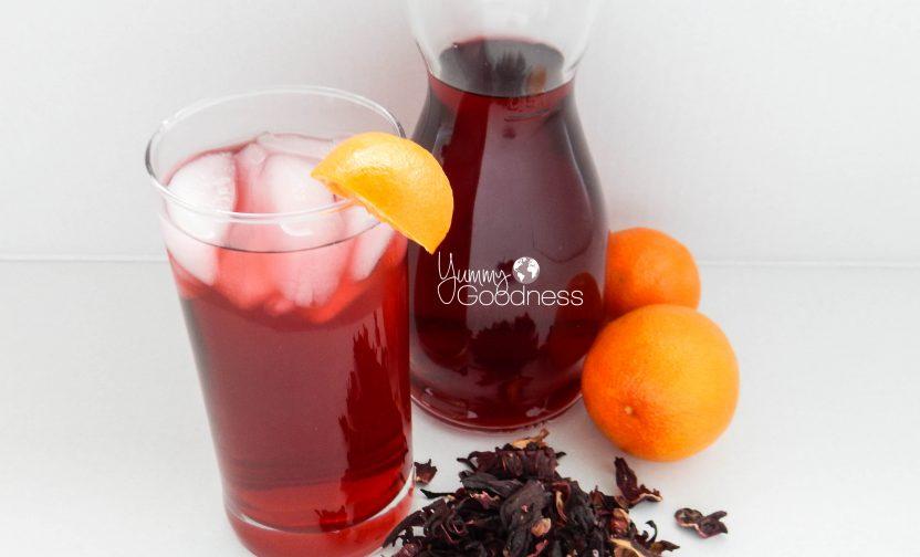 Hibiscus Tea – Agua de Jamaica